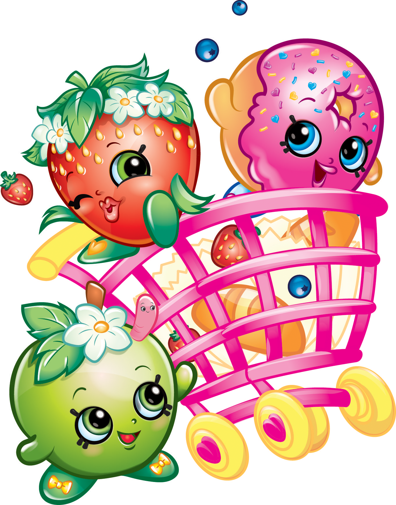 Coloring Pages Of Shopkins Character